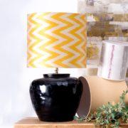 Base lámpara cerámica fabricada a mano 6