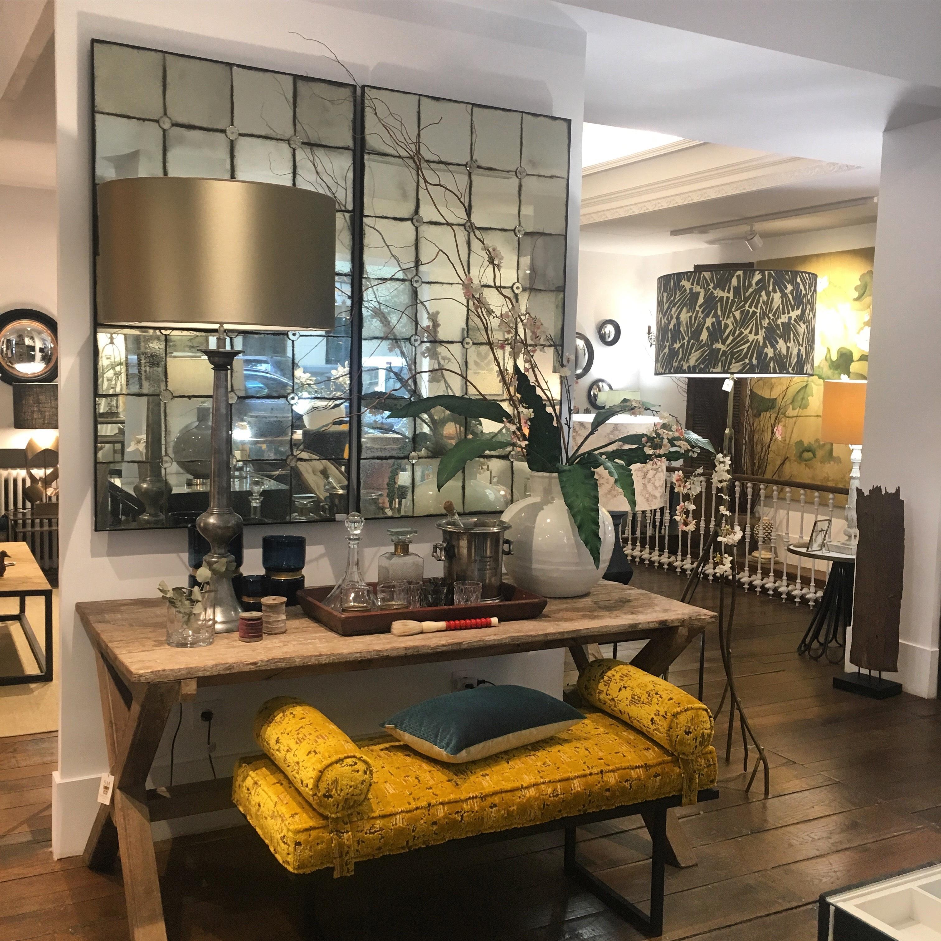 Espejo antiguo sandra marcos interiorismo for Espejos para living