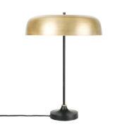 Lámpara con pantalla de latón