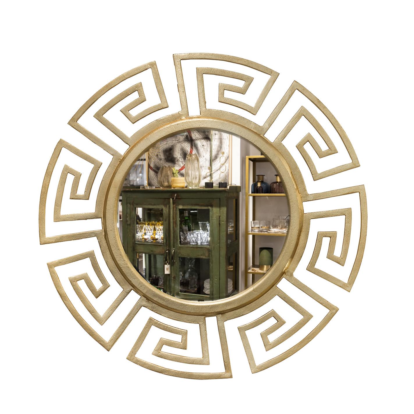 Espejo redondo sandra marcos interiorismo for Espejo redondo con marco